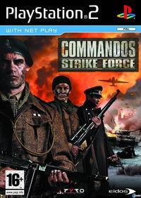 Portada oficial de Commandos Strike Force para PS2