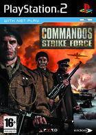 Portada oficial de de Commandos Strike Force para PS2