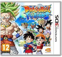 Portada oficial de Dragon Ball: Fusions para Nintendo 3DS