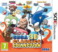 Portada oficial de SEGA 3D Classics Collection para Nintendo 3DS