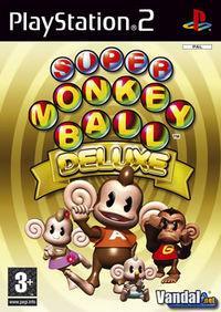 Portada oficial de Super Monkey Ball Deluxe para PS2