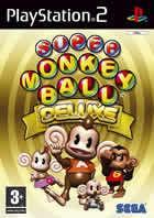 Portada oficial de de Super Monkey Ball Deluxe para PS2