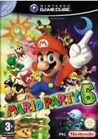 Portada oficial de de Mario Party 6 para GameCube