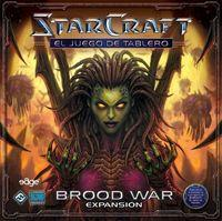 Portada oficial de StarCraft: Brood War para PC