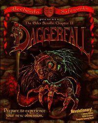 Portada oficial de The Elder Scrolls II: Daggerfall para PC