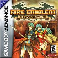 Portada oficial de Fire Emblem: The Sacred Stones para Game Boy Advance
