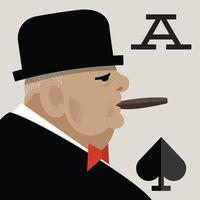Portada oficial de Churchill Solitaire para iPhone