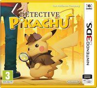 Portada oficial de Detective Pikachu para Nintendo 3DS