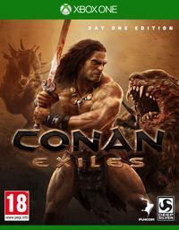 Portada oficial de Conan Exiles para Xbox One