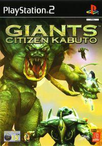Portada oficial de Giants: Citizen Kabuto para PS2