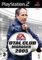 Portada oficial de de Total Club Manager 2005 para PS2