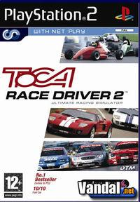 Portada oficial de Toca Race Driver 2: The Ultimate Racing Simulator para PS2