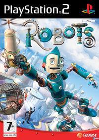 Portada oficial de Robots para PS2
