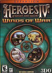 Portada oficial de Heroes of Might and Magic IV: Winds of War para PC
