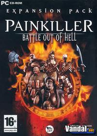 Portada oficial de Painkiller: Battle out of Hell para PC