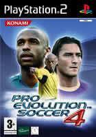 Portada oficial de de Pro Evolution Soccer 4 para PS2