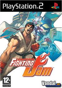 Portada oficial de Capcom Fighting Jam para PS2