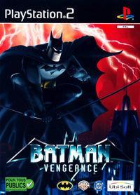 Portada oficial de Batman Vengeance para PS2