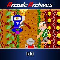 Portada oficial de Arcade Archives Ikki para PS4