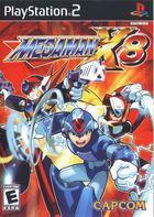 Portada oficial de de Megaman X8 para PS2
