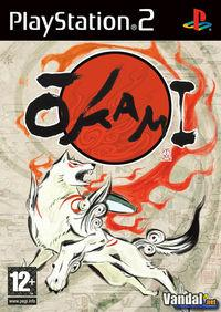 Portada oficial de Okami para PS2