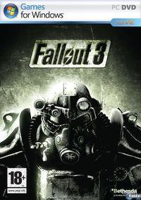 Portada oficial de Fallout 3 para PC