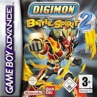 Portada oficial de Digimon Battle Spirits 2 para Game Boy Advance