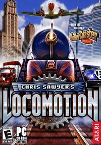 Portada oficial de Chris Sawyer's Locomotion para PC
