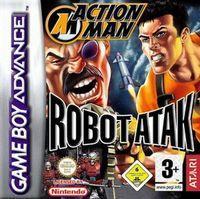 Portada oficial de Action Man Robot Atak para Game Boy Advance