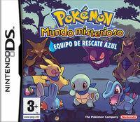 Portada oficial de Pokémon Mundo Misterioso: Equipo de Rescate Azul & Rojo CV para Wii U