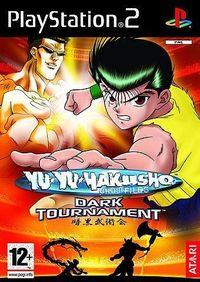 Portada oficial de Yu Yu Hakusho: Dark Tournament para PS2