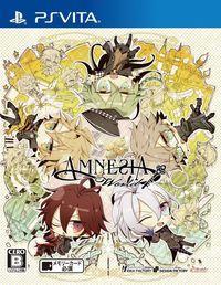 Portada oficial de Amnesia World para PSVITA