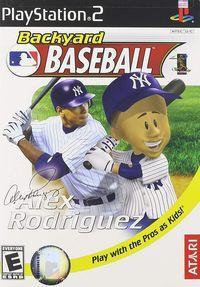 Portada oficial de Backyard Baseball para PS2