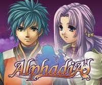 Portada oficial de Alphadia eShop para Nintendo 3DS