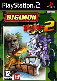 Portada oficial de Digimon Rumble Arena 2 para PS2