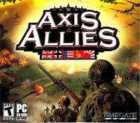 Portada oficial de Axis & Allies para PC