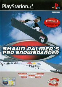 Portada oficial de Shaun Palmer's Pro Snowboarder para PS2
