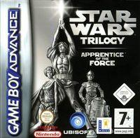 Portada oficial de Star Wars Trilogy para Game Boy Advance