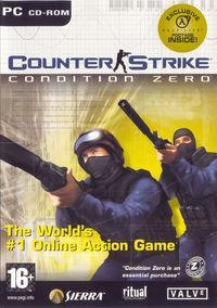 Portada oficial de Counter-Strike: Condition Zero para PC