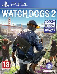 Portada oficial de Watch Dogs 2 para PS4