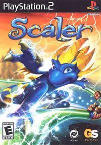 Portada oficial de Scaler para PS2