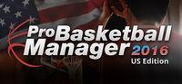 Portada oficial de Pro Basketball Manager 2016 - US Edition para PC