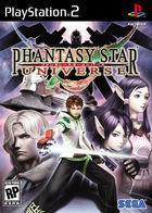 Portada oficial de de Phantasy Star Universe para PS2