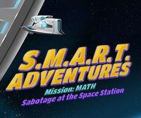 Portada oficial de SMART Adventures Mission Math eShop para Wii U