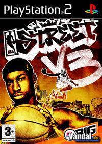 Portada oficial de NBA Street V3 para PS2