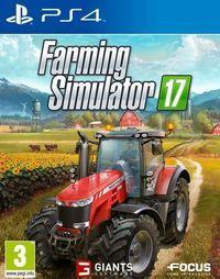 Portada oficial de Farming Simulator 17 para PS4