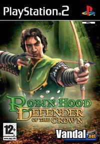 Portada oficial de Robin Hood: Defender of the Crown para PS2