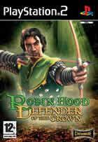 Portada oficial de de Robin Hood: Defender of the Crown para PS2