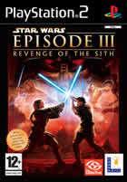 Portada oficial de de Star Wars Episodio 3: La Venganza de los Sith para PS2