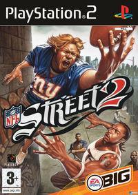 Portada oficial de NFL Street 2 para PS2